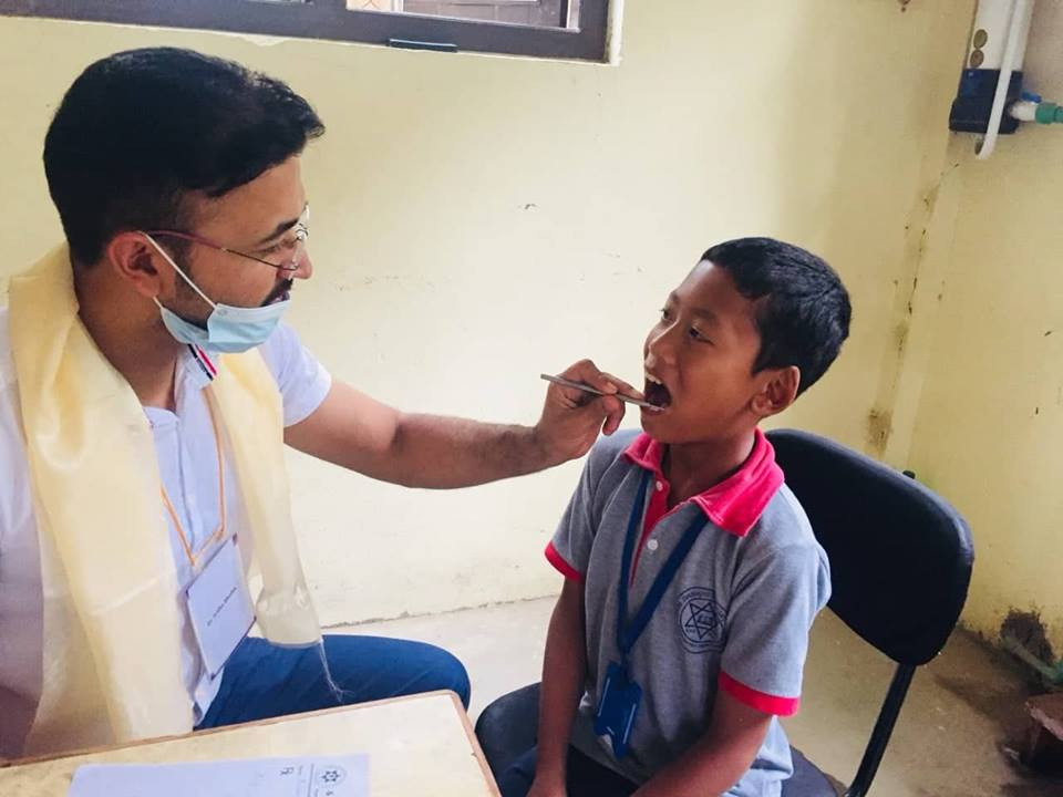 Free Dental Camp at Different Sites